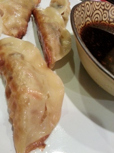 shiitake pot stickers