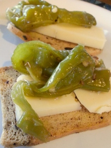 peppers and provolone