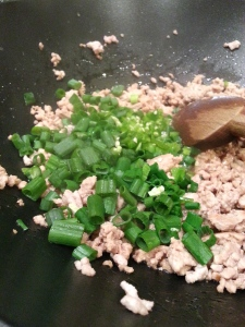 pork and scallions
