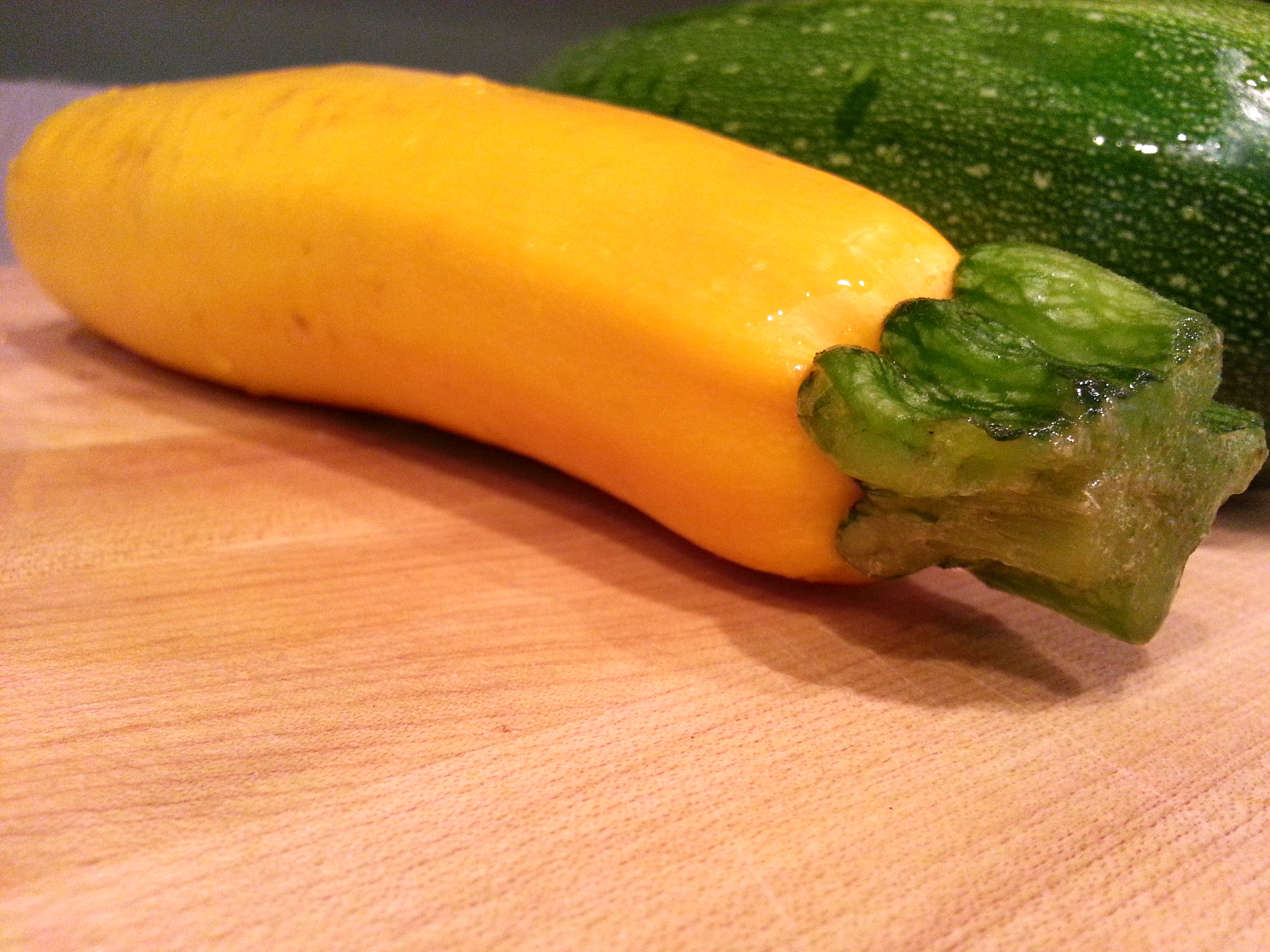 shaved summer squash salad (adapted from Cooking Light)