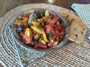 balsamic tomato salsa